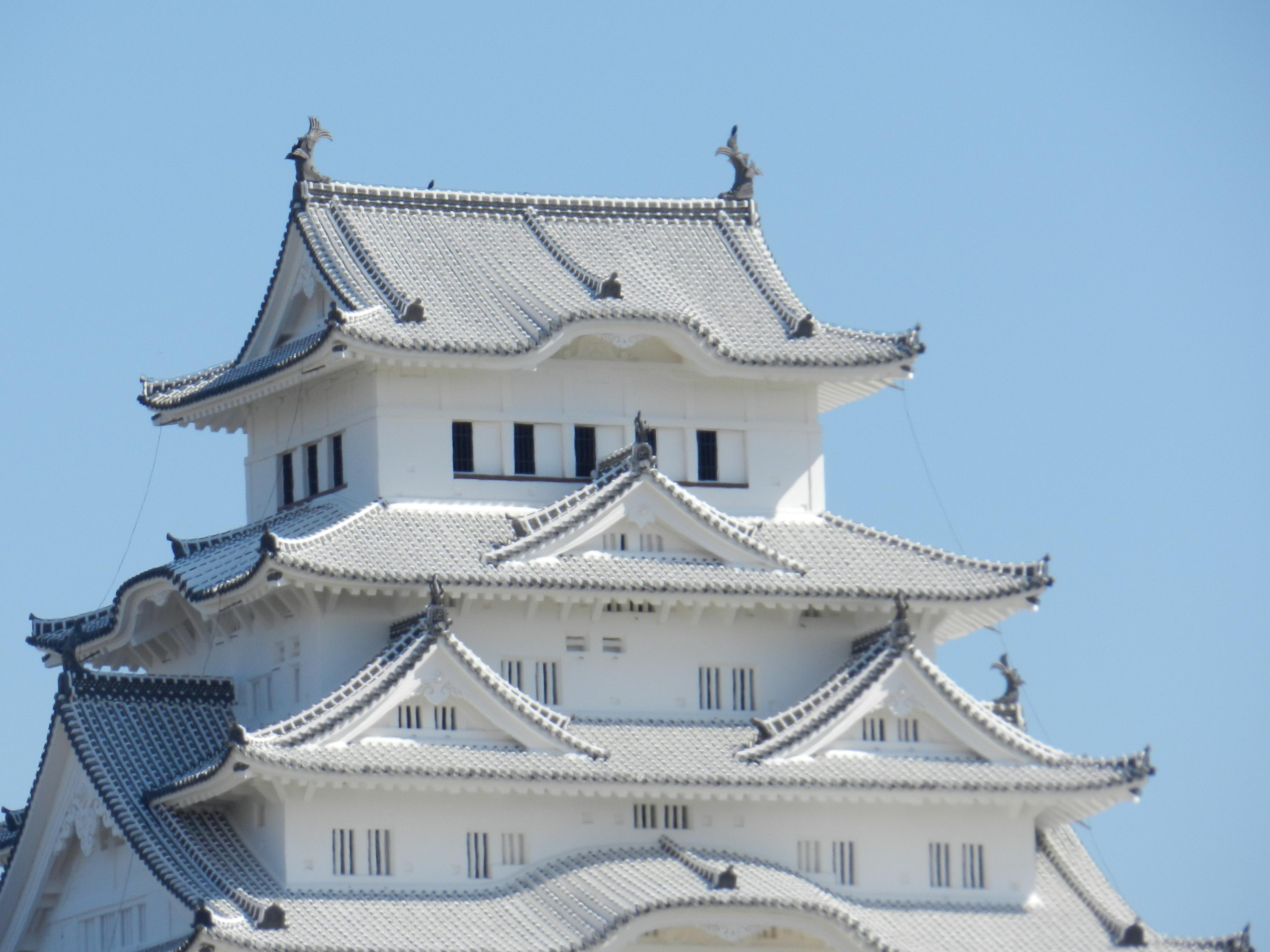 Il Castello di Himeji, l'Airone Bianco del Giappone.