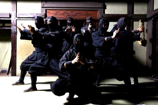 Ninja. Gli Invincibili Agenti Segreti del Giappone Feudale.