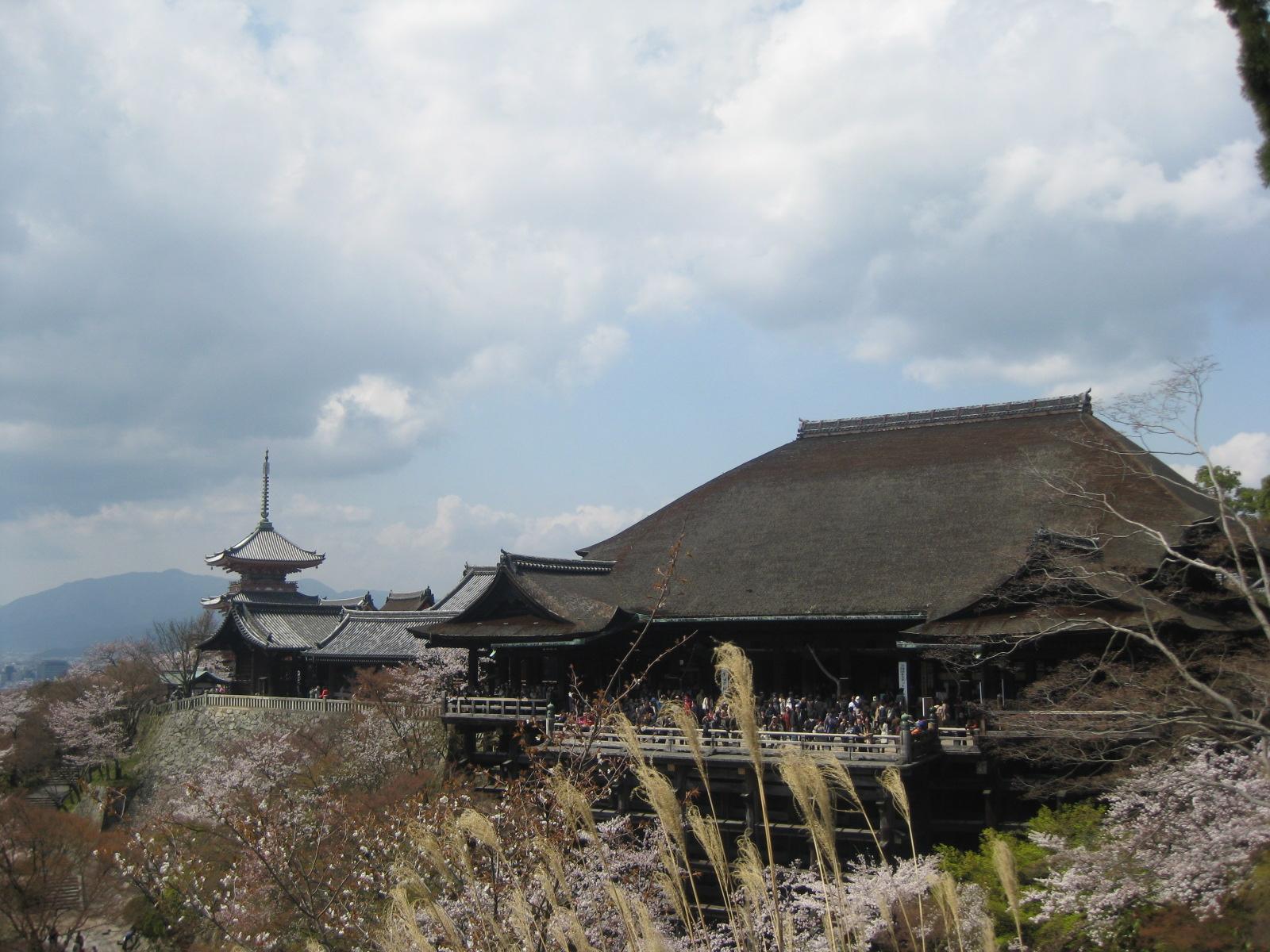 Kiyomizu-dera.  Il Tempio dell'Acqua Pura.
