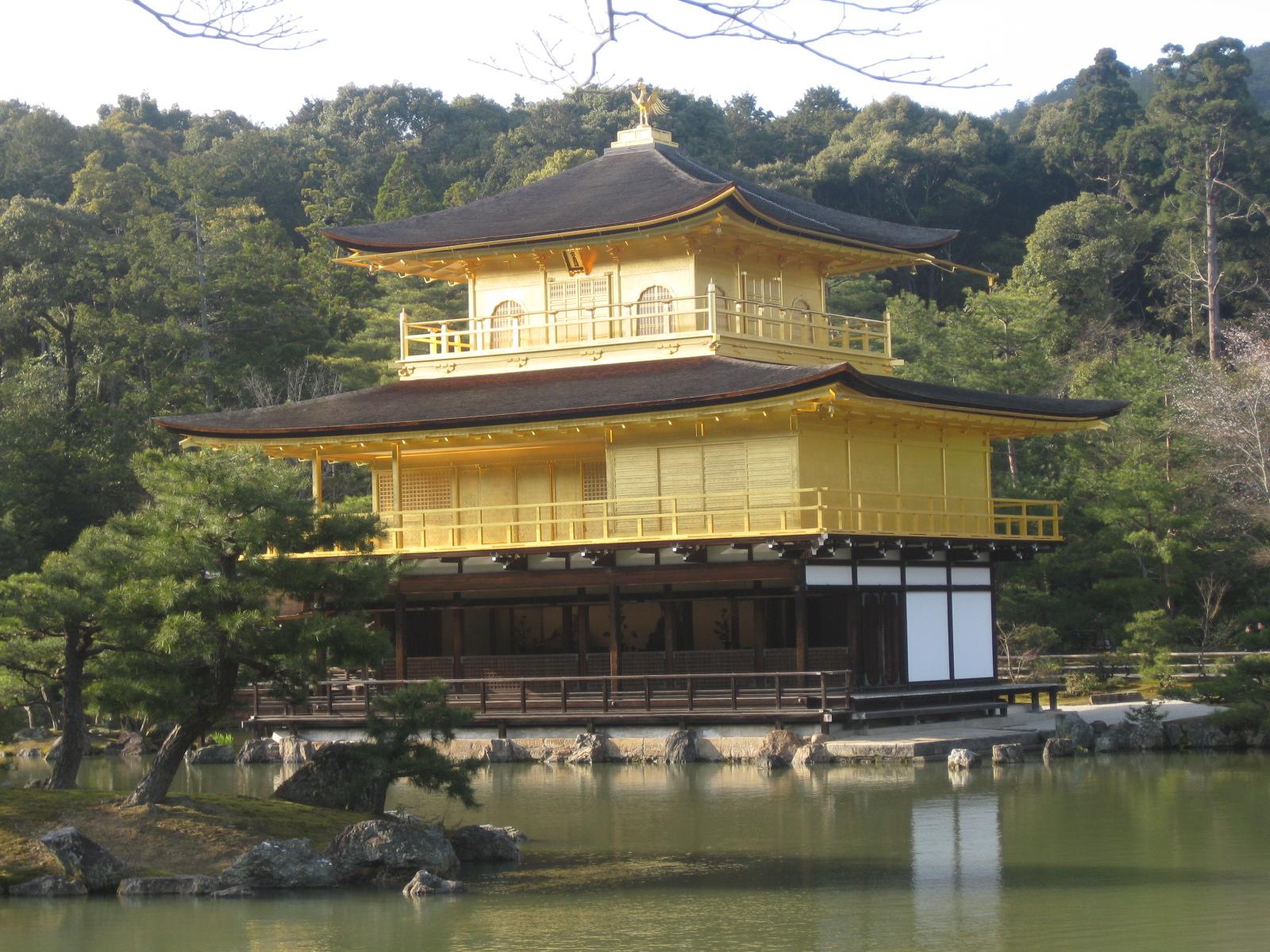Kinkaku-ji. Il Tempio del Padiglione d'Oro.