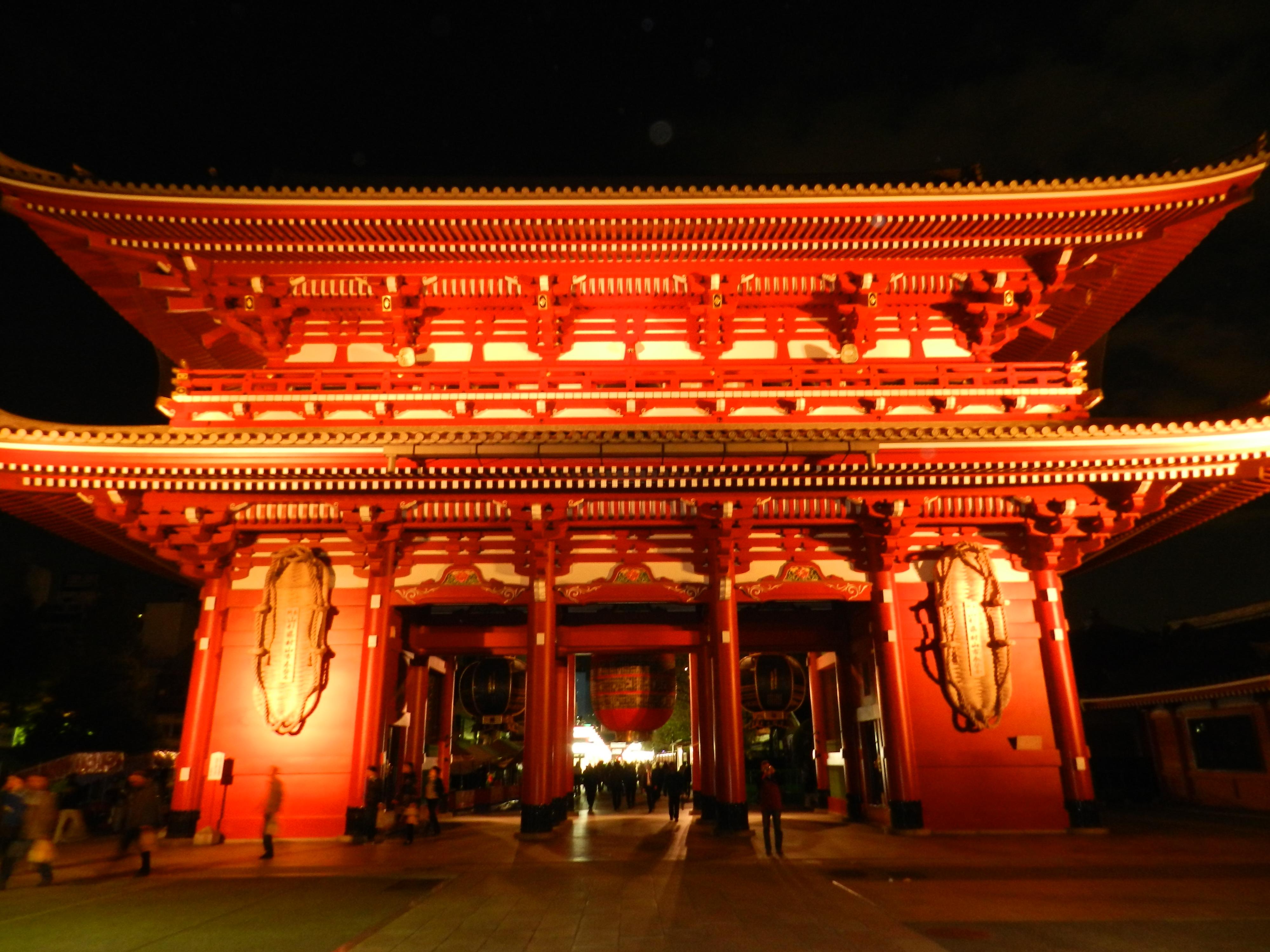 Sensō-ji. Il Tempio Buddhista più antico di Tōkyō.