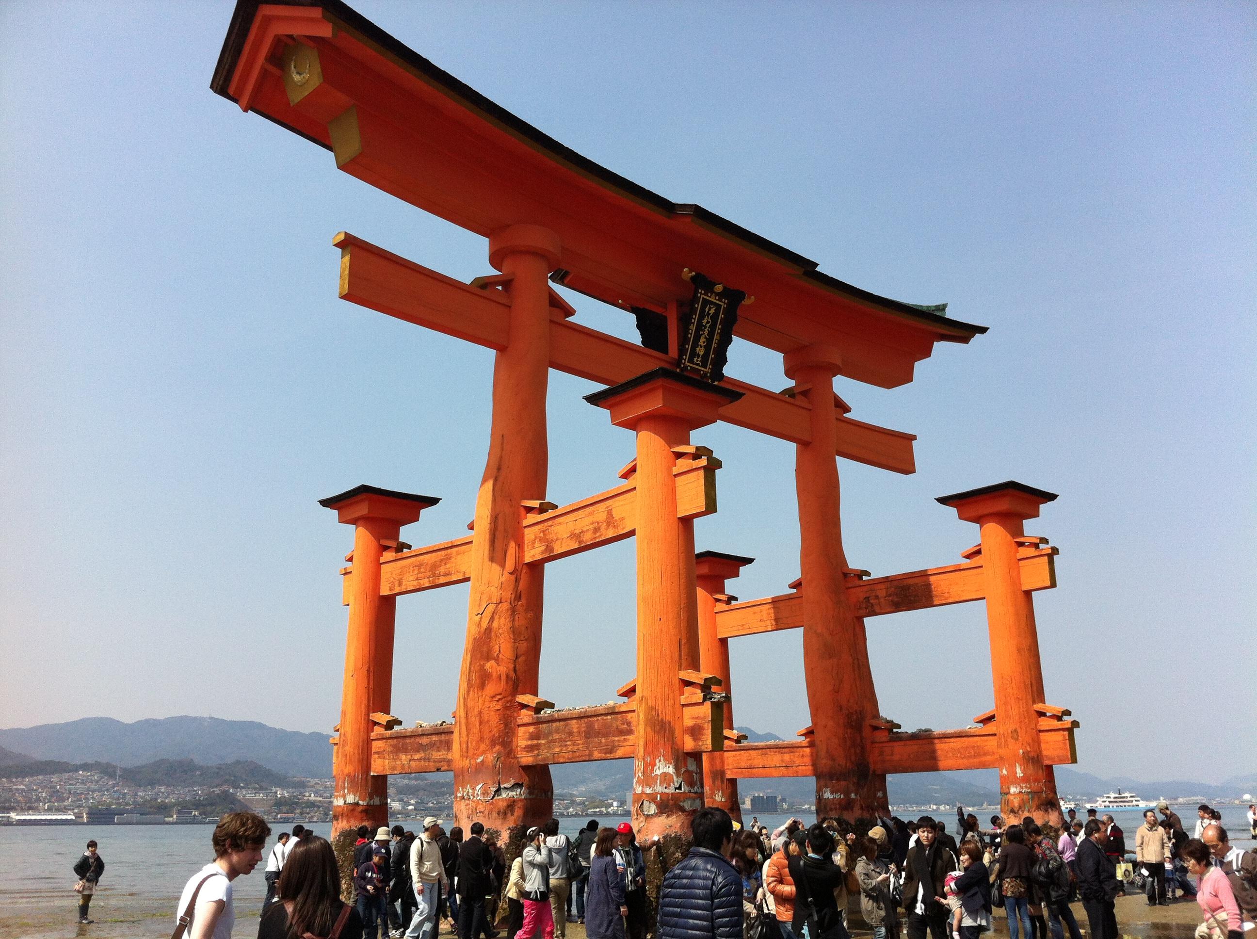 Santuario di Itsukushima. L'Isola Sacra dello Shintoismo.