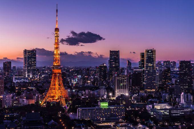 La Torre di Tokyo.
