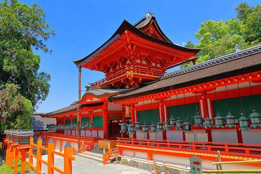 Santuario Shintoista di Kasuga-Taisya.