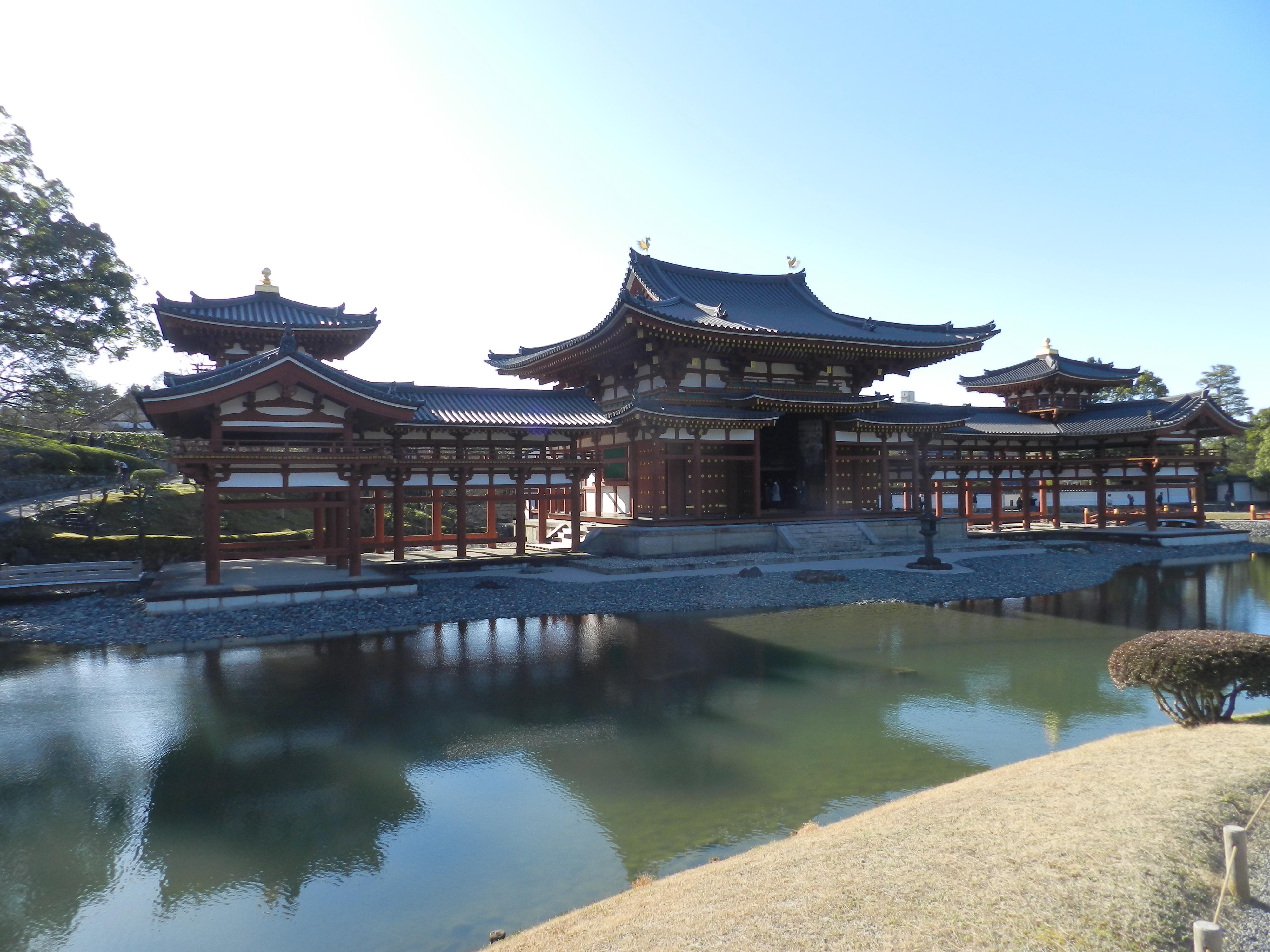 Tempio Buddista di Byōdō-in, la Sala della Fenice.