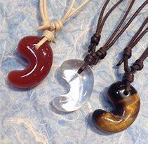 Magatama, antichi gioielli del Giappone.
