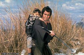 Ittō Ogami, il Lupo con il bambino.