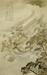 220px-Kikuchi_Yoosai_-_Mongol_Invasion_(mōko_shūrai)_-_Tokyo_National_Museum[1]