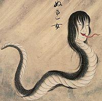 Nure-onna, la donna serpente