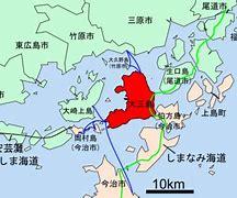 Mappa isola Oshima