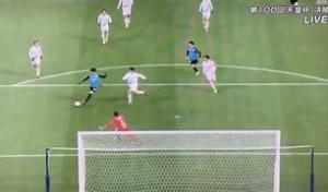Mitoma gol in Finale