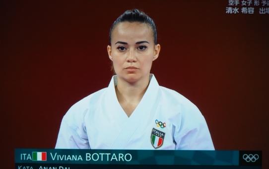 Viviana Bottaro, il primo Kata alle Olimpiadi di Tokyo.